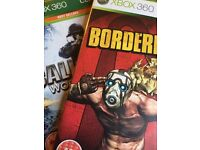 XBOX 360 Games (Call of Duty, Borderlands & Grand Theft)