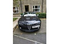 Alfa 159 2.4 JTDM. TI wheels, Novitec skirts and splitter, remapped
