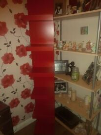 IKEA RED WALL UNIT
