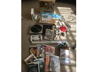 MASSIVE BUNDLE - Wii Console + Wii Controller + Dance Mat + DJ Turntable + 12 Games + More