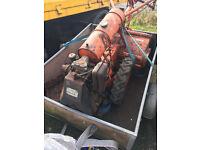 Howard Gem Diesel Garden Allotment Tiller Rotavator