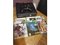 X Box 360 with wireless controller