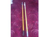 paint roller extending poles x 2 to 8ft £ 20.00