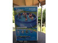 10 Ft quick set ring pool