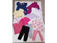 9-12 Months Girls Bundle Of Clothes