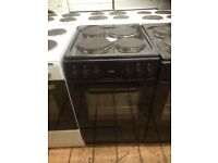 Black bush electric cooker £125 as new can deliver