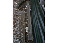 Concrete lintel - 2.4m x 150mm x 100mm