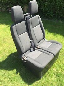 Ford Transit Custom Double Front Seat