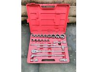 """Kennedy Professional 3/4"""" Drive Socket Set (22mm up to 60mm with multiple attachments) *BL2 PICKUP*"""