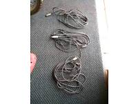 3 Microphone Cables *FREE*