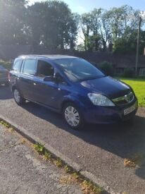 Vauxhall zafira 1.9cdti manual 7 seater low MILEAGE