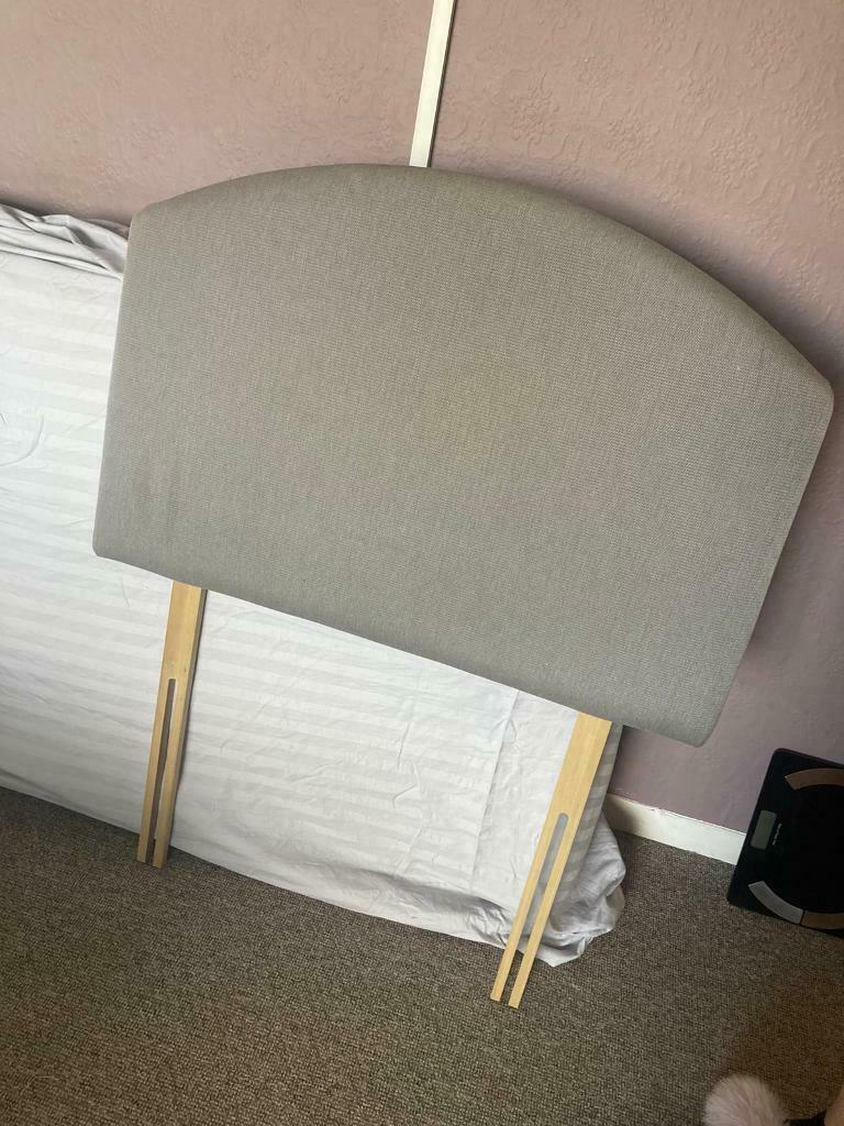 Free single bed and headboard