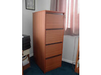 Four Drawer Filing Cabinet with supension files