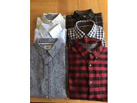 Bundle of men's shirts. Size M. All in great condition.