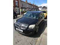 Toyota Avensis dudley Taxi plated