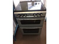 NEWHOME ELECTRIC COOKER 60cm WIDE DOUBLE OVEN WITH GRILL FREE DELIVERY AND WARRANTY