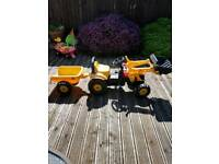 Tractor out door toy