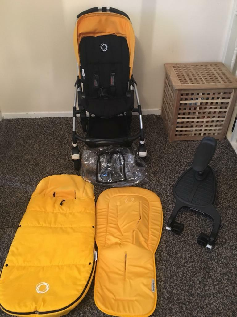 Bugaboo Bee Plus with accessories