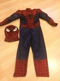 Disney Store Spider-Man Costume. Age 5/6