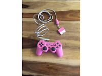 Pink PlayStation 1 & 2 pink controller £10 ONO