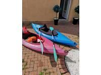 Perception kiwi 1.5 canoes