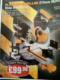 Chop saw. As new