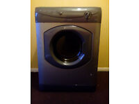 Tumble dryer hotpoint 6 kg load vgc silver graphite vented front load bargain