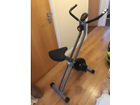 Magnetic Folding Exercise Bike (very good condition)