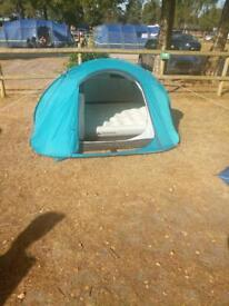 3 man pop up tent & double air bed