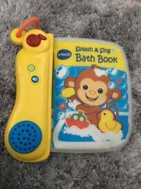 musical bath toy book