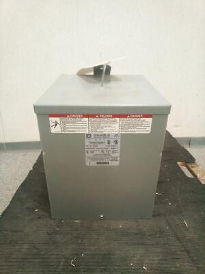 Square D 10s40f 480vac Input 120vac240vac Output Single Phase Transformer