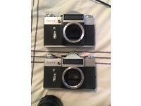 2 Zenit E film camera