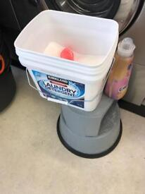 Empty plastic tubs with lids FREE