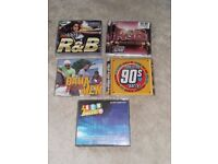 x5 R&B - Party Music Cd's (Boxsets/Double) vgc