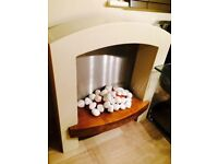 Electric Fireplace - Pebble Effect