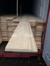"New timber 7"" x 14 ft skirting board"
