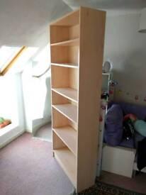 Large bookcase shelving unit
