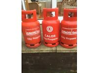 3 No , 6kg propane gas cylinders