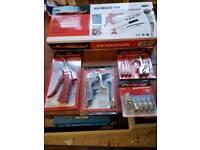 Nielsen Air Tools - Air grease gun + other accessories.