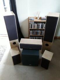 Tannoy Mercury 5.1 speaker system