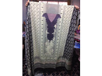Cotton ( Linen) Kameez Fabric