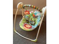 Bright Starts Up Up & Away Baby Swing