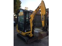 0.8t-1.5 ton mini Diggers & driver hire- DPM Groundwork Services, footings,muckaway lorrys,dumpers,