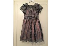 Charm party dress and lace wrap age 12 excellent condition bought for £59.99 selling for £6