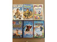 VHS tapes: children's and young adults: Disney and others.