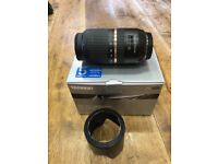 Sony fit Tamron SP 70-300mm F/4-5.6 Di USD Lens