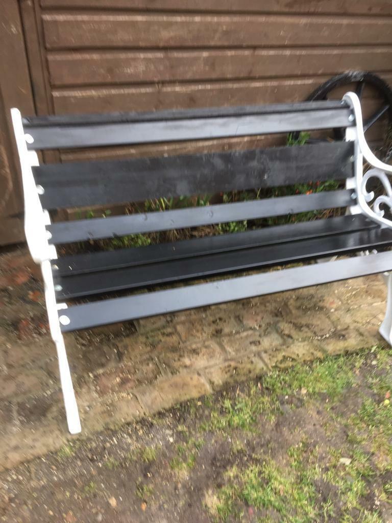 Garden Bench Cast Iron Ends 45 No Offers