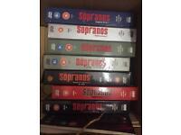 SOPRANOS complete set DVD - collectors edition 1 2 3 4 5 6