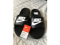Nike Flip Flops Black