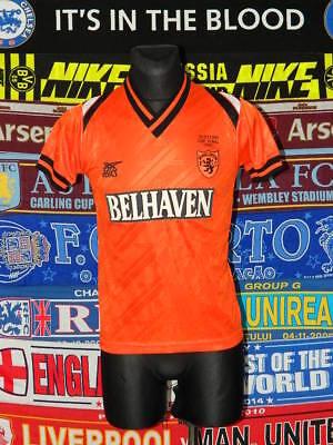 4.5/5 Dundee United adults S 1991 cup original football shirt jersey trikot image
